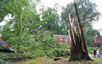 Hurricane Irene Damage in Maryland
