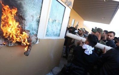 Iraqi Shiite Militia Supporters Break into U.S. Embassy Compound in Baghdad