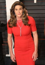 Caitlyn Jenner arrives at the Vanity Fair Oscar Party in Beverly Hills
