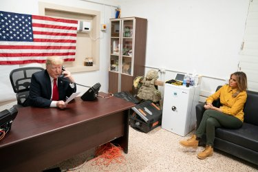 President Donald J. Trump and First Lady Visit Al Asad Air Base