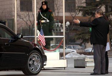 U.S. Ambassador to China Jon Huntsman attends court appeal in Beijing