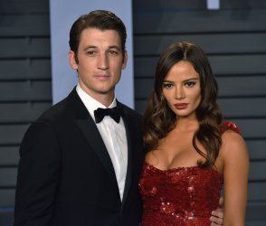 Miles Teller attends the Vanity Fair Oscar Party in Beverly Hills