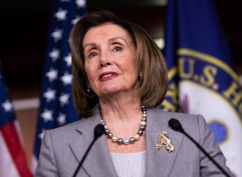 Speaker Pelosi holds a press conference in Washingotn, DC