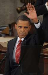 U.S. President Obama delivers his first State of the Union address on Capitol Hill in Washington