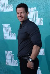 Mark Wahlberg arrives at the 2012 MTV Movie Awards in Universal City, California
