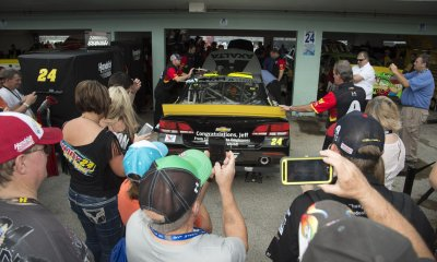 NASCAR SPRINT CUP Series Ford Ecoboost 400 at the Homestead-Miami Speedway