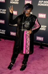 Missy Elliott arrives at the 2016 VH1 Hip Hop Honors