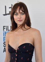 Dakota Johnson attends Film Independent Spirit Awards in Santa Monica