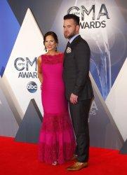 David Nail arrives at the 49th Annual CMA Awards