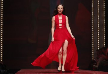 Juliette Lewis at the Red Dress show in New York