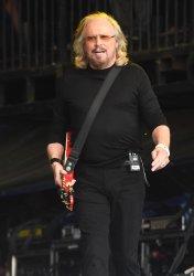 Barry Gibb performs at Glastonbury Festival