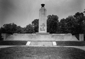 Eternal Light Peace Memorial in Gettysburg