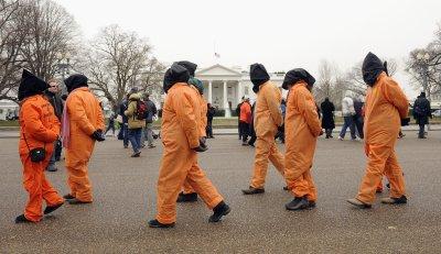 Demonstrators call for Guantanamo Bay detention center closing in Washington