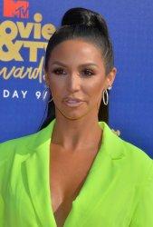 Scheana Shay attends the MTV Movie & TV Awards in Santa Monica, California