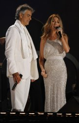Andrea Bocelli Performs in Concert in New York