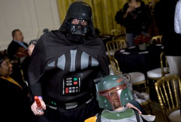 President Obama and First Lady Celebrate Halloween at White House