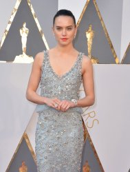 Daisy Ridley arrives at the 88th Academy Awards