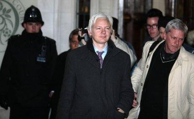 Julian Assange at London's Supreme Court