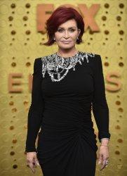 Sharon Osbourne attends Primetime Emmy Awards in Los Angeles