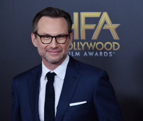 Christian Slater attends the 22nd annual Hollywood Film Awards in Beverly Hills