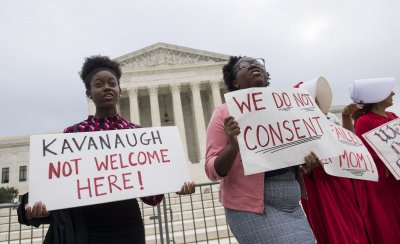 Kavanaugh Protest at the Supreme Court in Washington, D.C.