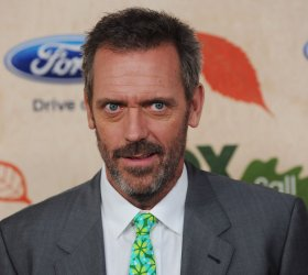 Hugh Laurie attends Fox's Fall Eco-Casino party in Culver City, California