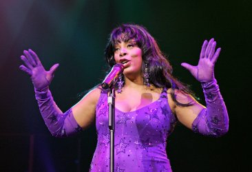 Donna Summer performs in concert in Hollywood, Florida