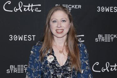 Chelsea Clinton at the New York screening of 'Colette