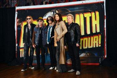 Aerosmith announces new album and tour dates in West Hollywood, California