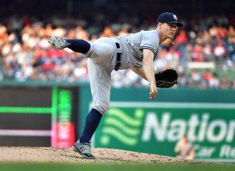 Yankees starting pitcher Sonny Gray