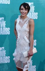 Lauren Mcknight arrives at the 2012 MTV Movie Awards in Universal City, California