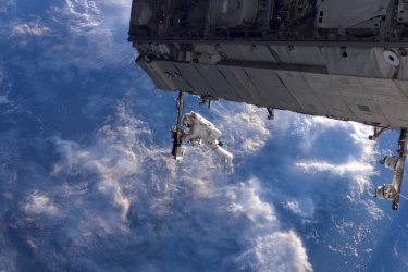 December 2006: Constructing the International Space Station