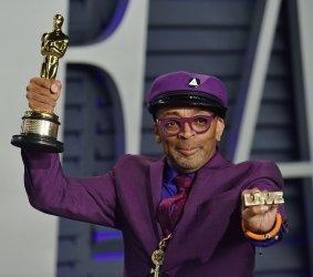 Spike Lee attends Vanity Fair Oscar Party 2019