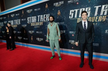 Shazad Latif at the 'Star Trek: Discovery' premiere