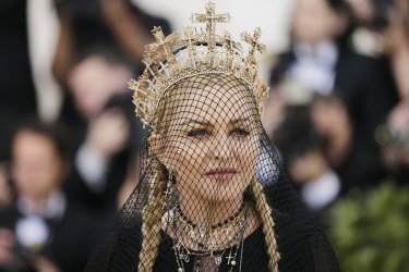 Madonna at the Met Gala in New York