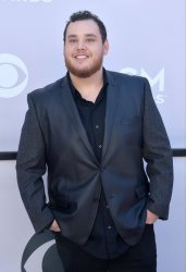 Luke Combs attends the 52nd annual Academy of Country Music Awards in Las Vegas