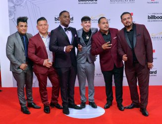 T3R Elemento attends the Billboard Latin Music Awards in Las Vegas