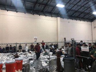 Detainees held in McAllen Texas