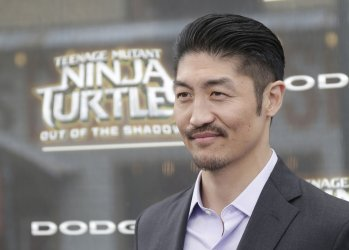 Brian Tee at the Teenage Ninja Turtles Premiere
