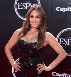 Nikki Bella attends the ESPY Awards in Los Angeles