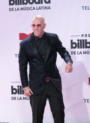 Kendo Kaponi walks the red carpet at the 2020 Latin Billboard Awards in Sunrise, Florida