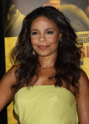 """Sanaa Lathan arrives for the """"Contagion"""" Premiere in New York"""