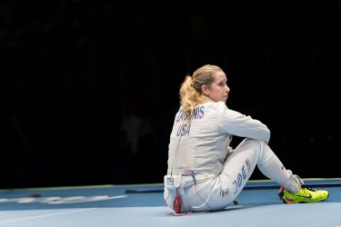 Women's Team Saber Semifinals at the 2016 Rio Summer Olympics