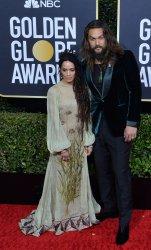 Lisa Bonet and Jason Momoa attend the 77th Golden Globe Awards in Beverly Hills
