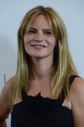Jennifer Jason Leigh attends the Disney ABC Television Group Party in Beverly Hills