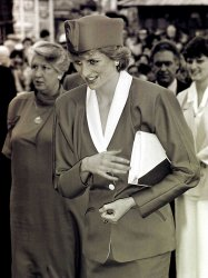 Princess Diana at Expo'86 Opening-File Photo