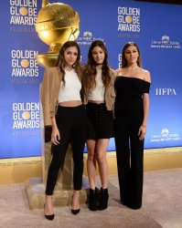 Stallone daughters gather at nominees announcements for the 74th Golden Globe Awards in Beverly Hils