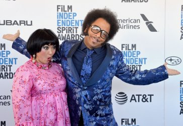 Gabby La La and Boots Riley attend Film Independent Spirit Awards in Santa Monica
