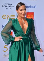Adrienne Bailon attends the 50th NAACP Image Awards in Los Angeles