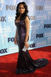 Anika Noni Rose attends the 42nd NAACP Image Awards Awards in Los Angeles